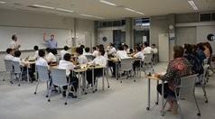 アメリカの中高の先生方が本校を訪問されました